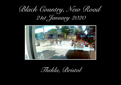 Black Country, New Road at Thekla in Bristol