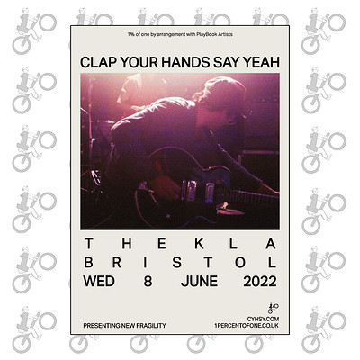 Clap Your Hands Say Yeah at Thekla in Bristol
