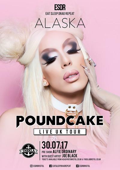 ESDR presents Alaska: Poundcake LIVE (BRISTOL 14+) at Thekla in Bristol