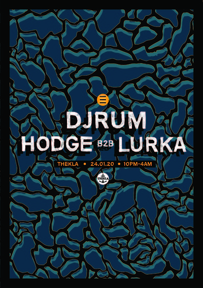 ESO Pres. Djrum, Hodge b2b Lurka at Thekla in Bristol