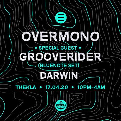 ESO Pres. Overmono, Grooverider, Darwin at Thekla in Bristol