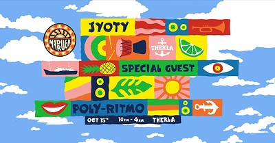 Madruga Pres. Joyty, Special Guest, Poly-Ritmo  at Thekla in Bristol