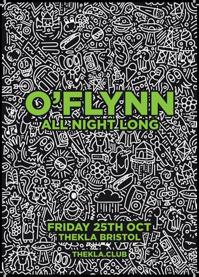 O'Flynn All Night Long at Thekla in Bristol