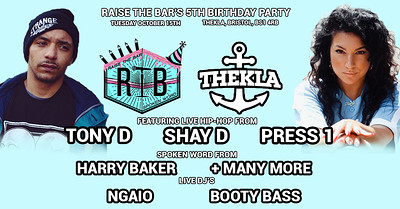 Raise the Bar's 5th Birthday Party at Thekla in Bristol