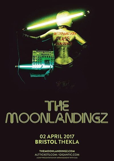 The Moonlandingz at Thekla in Bristol