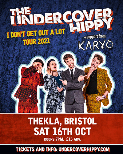 The Undercover Hippy (Full Band) + Karyo at Thekla in Bristol