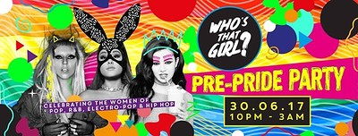 Who's That Girl? PRE- PRIDE PARTY at Thekla in Bristol