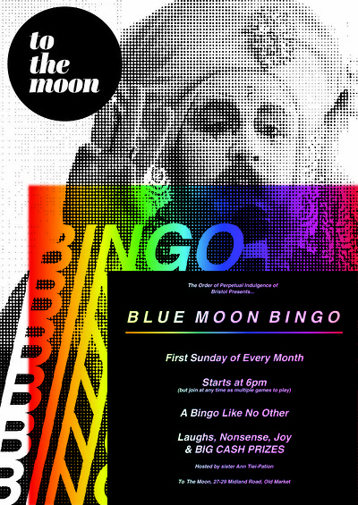 Blue Moon Bingo! at To The Moon in Bristol