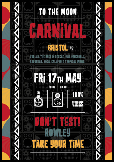 Carnival #3 at To The Moon in Bristol