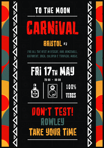 Don't Test Carnival at To The Moon in Bristol