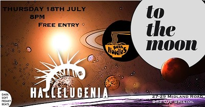 Hallelugenia+BassNoodles Live  at To The Moon in Bristol