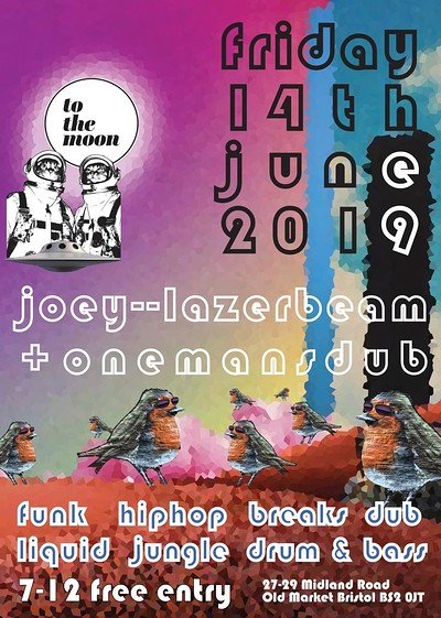 Joey Lazerbeam & Onemansdub at To The Moon in Bristol