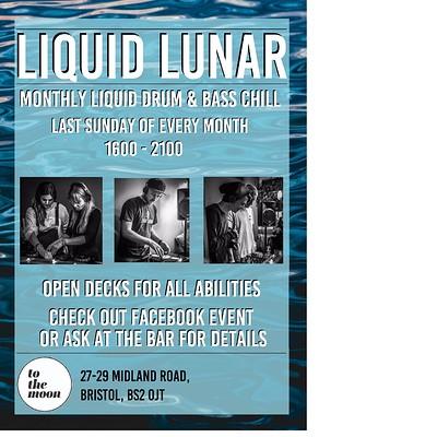 Liquid Lunar  - liquid dnb open decks at To The Moon in Bristol