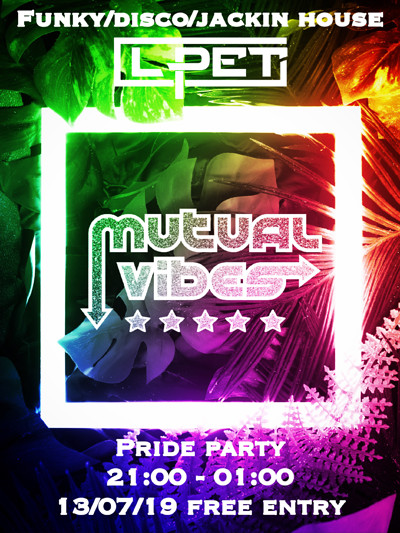 Mutual Vibes: Bristol Pride Party at To The Moon in Bristol