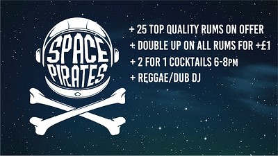 Space Pirates 14 - Rum Event at To The Moon in Bristol