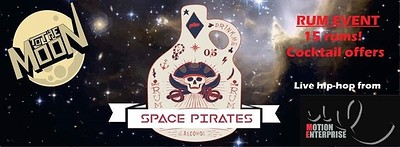 Space Pirates 2 - rum event at To The Moon in Bristol