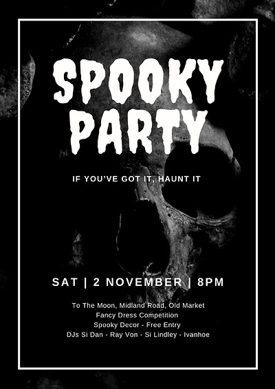 Spooky Party at To The Moon in Bristol