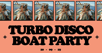 Turbo Disco Boat Party at Tower Belle in Bristol