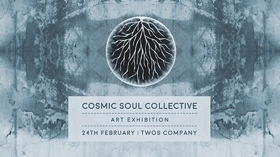 Cosmic Soul Collective Art Exhibition La at Twos Company Bristol Limited in Bristol
