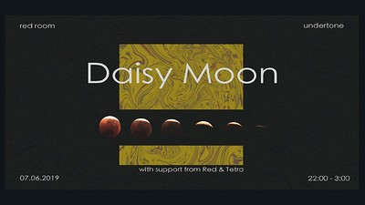 RED ROOM W/ DAISY MOON at Undertone  in Bristol