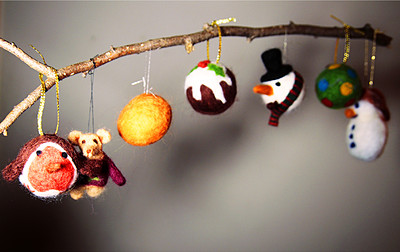 Make your own felt baubles (Christmas Special!) at Unit 15 in Bristol