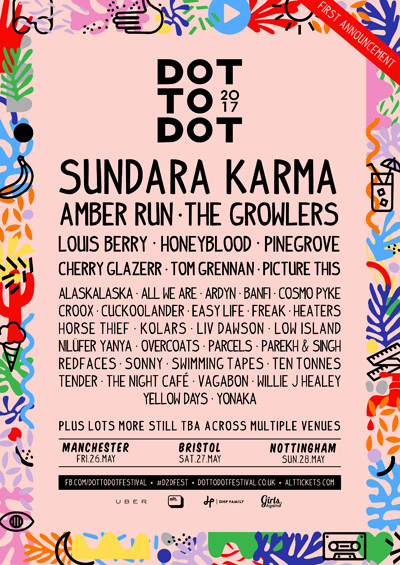 Dot to Dot Festival 2017 at Various Venues in Bristol