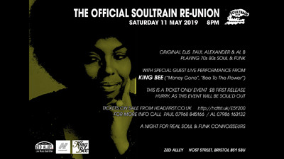 Soultrain Re-union  at Zed Alley  in Bristol