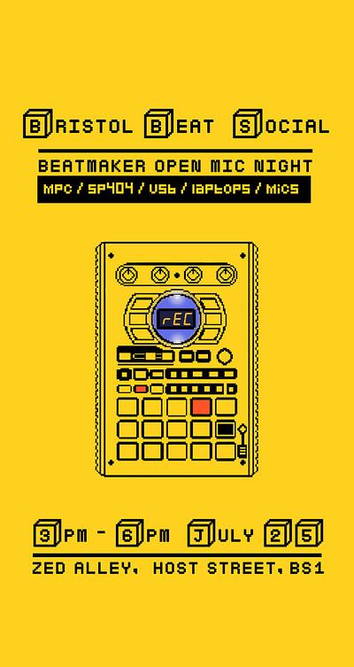 Bristol Beat Social (Rescheduled) at Zed Alley in Bristol