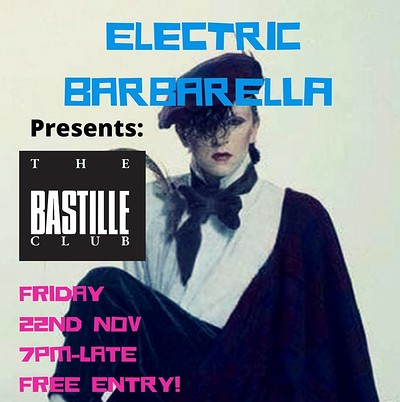 Electric Barbarella Club Night Bastille Reunion at zed alley in Bristol