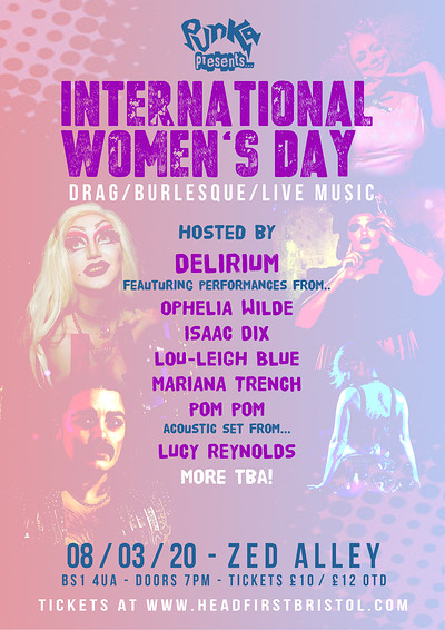 Punka presents: International Women's Day Show at Zed Alley in Bristol