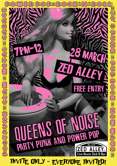 Queens of Noise at Zed Alley in Bristol