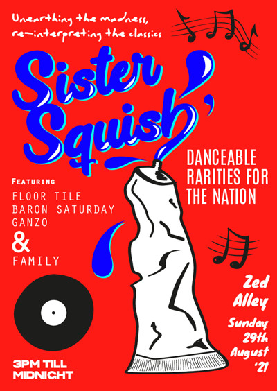 Sister Squish at Zed Alley in Bristol