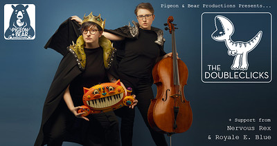 The Doubleclicks at Zed Alley in Bristol