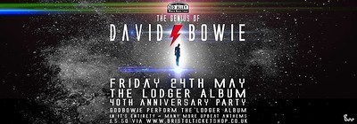 The Genius of David Bowie play Lodger at Zed Alley in Bristol