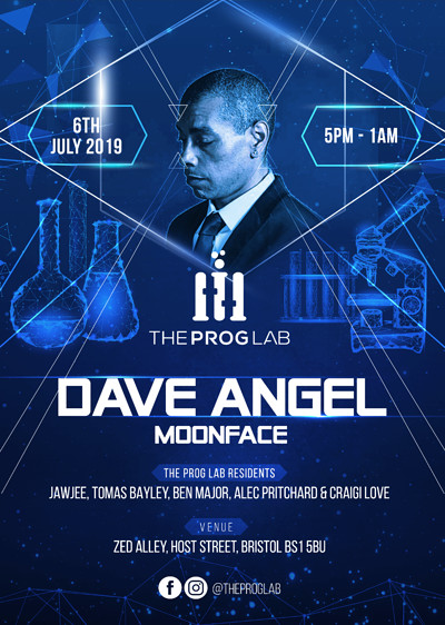 The Prog Lab: Dave Angel, Moonface + Residents at Zed Alley in Bristol