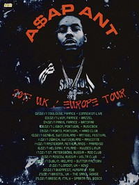 Psyched presents A$AP ANT (Asap Mob) at Analog in Bristol