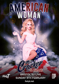 Miz Cracker's American Woman at Anson Rooms in Bristol