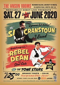 Si Cranstoun & Rebel Dean Double Bill at Anson Rooms in Bristol