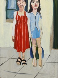 Chantal Joffe: For Esme - With Love and Squalor at Arnolfini in Bristol