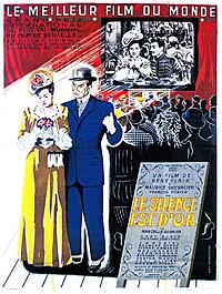 Film / Le Silence est D'or (1947) at Arnolfini in Bristol