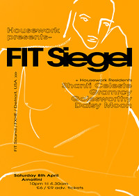 Housework w/ FIT Siegel (FIT Sound, FXHE, Detroit) at Arnolfini in Bristol