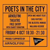 Poets in the City at Arnolfini in Bristol