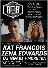 Raise the Bar (Feat. Zena Edwards & Kat Francois) at Arnolfini in Bristol