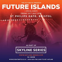 Future Islands at Ashton Gate Stadium, Bristol in Bristol