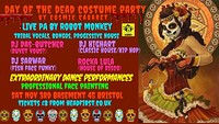 Day Of The Dead Costume Party By Cosmic Cabaret at Basement 45 in Bristol