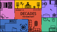 Decades Presents: THE HOUSE PARTY  at Basement 45 in Bristol