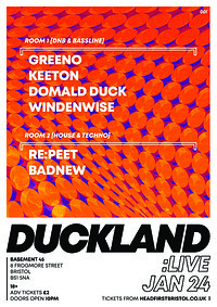 DUCK LAND at Basement 45 in Bristol