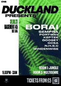Duckland 016 w/ Borai, Sempra & Portway at Basement 45 in Bristol