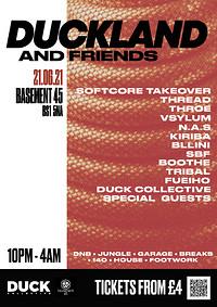 DUCKLAND & Friends Big Bash Back at Basement 45 in Bristol