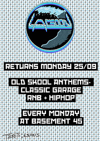 Lagoon: Old Skool Anthems at Basement 45 in Bristol